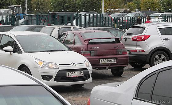 парковка задним ходом пошаговая инструкция