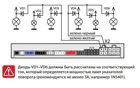 Старлайн а93 схема монтажа