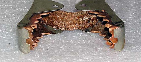 комбинированные зажимы крокодилы для проводов прикуривания