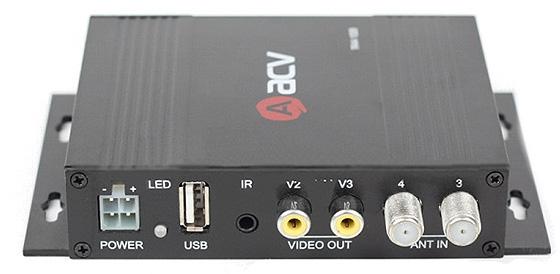 авто ТВ-тюнер цифровой DVB-T2 ACV TR44-1009