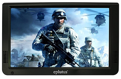 автотелевизор с цифровым тюнером EPLUTUS EP-1019T + DVB-T2