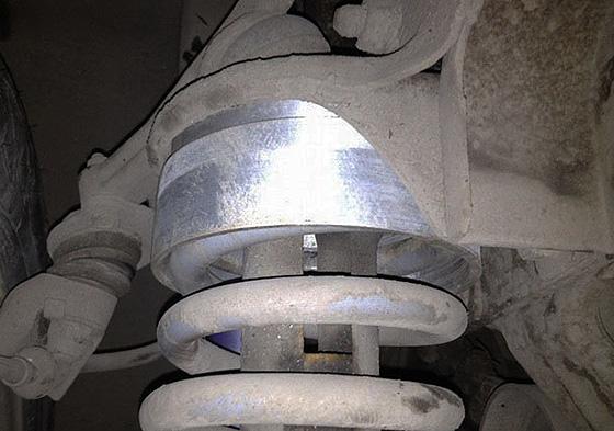 алюминиевые проставки для увеличения клиренса