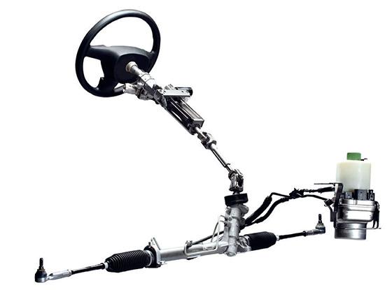 устройство рулевой рейки с гидроусилителем руля