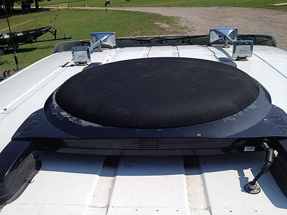 автомобильная ТВ-антенна для приема сигнала со спутника