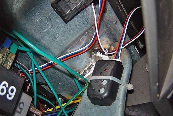 как снять узлы сигнализации с машины полностью