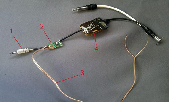 подключение усилителя сигнала с развязкой по питанию