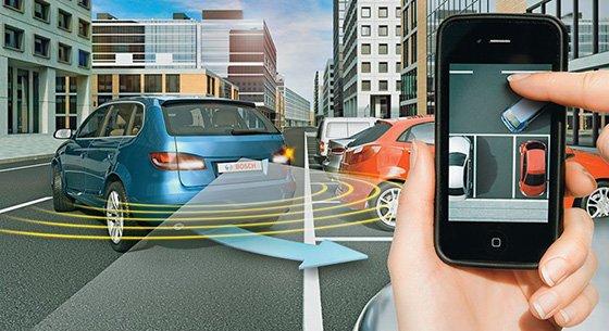управление автомобилем с мобильного телефона