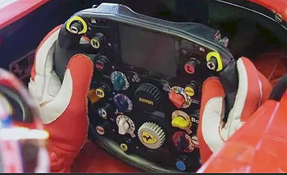 мультируль на гоночном автомобиле