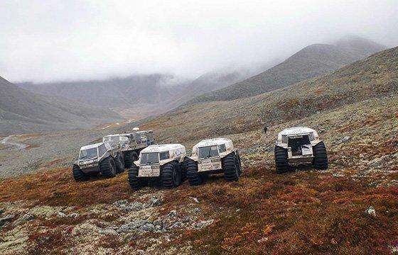 северная экспедиция на вездеходах ШЕРП