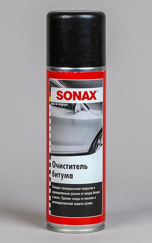 очиститель битумных пятен Sonax