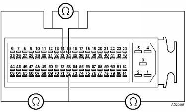 как проверить электронную педаль газа мультиметром со стороны блока управления двигателя