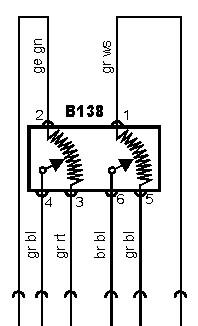 Электрическая схема электронной педали газа VW GOLF