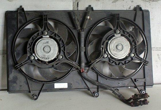 электровентиляторы радиатора Geely MK Cross