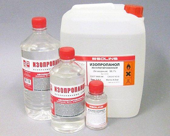 изопропиловый спирт входит в состав зимних омывающих жидкостей