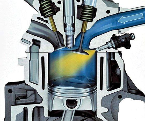 слишком бедная топливовоздушная смесь в цилиндрах двигателя автомобиля