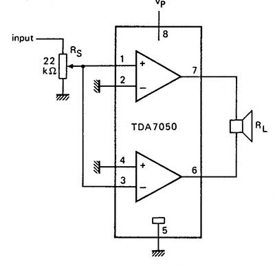 мостовая схема усилителя магнитолы