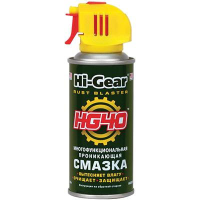 спрей для очистки контактов от окисления Hi-Gear HG40