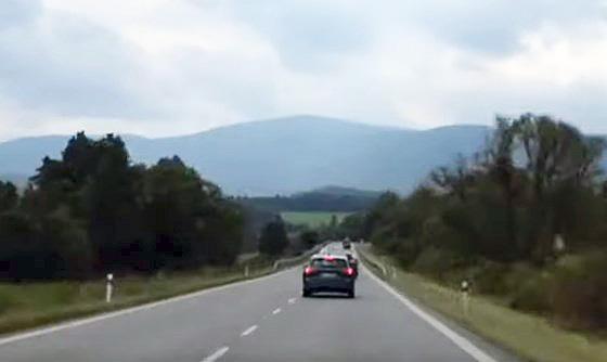 дорога в Словакии