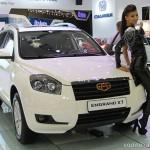 Технические характеристики автомобиля Geely Emgrand X7 (Джили Эмгранд Х7), цена и отзывы