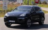 Появились первые фото обновленного Porsche Cayenne