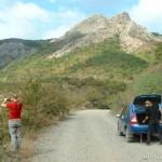 Автомобиль в горах, покорение крымских перевалов