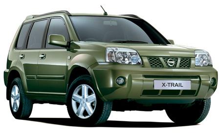 4 авто Nissan X Trail