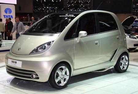 дешевый индийский автомобиль Tata Nаno