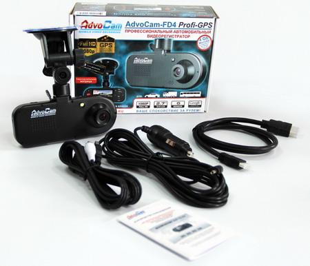 Регистратор AdvoCam-FD4 Profi-GPS