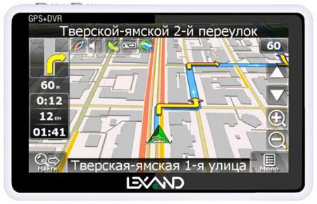 Навигатор Lexand SRV-5550 HD