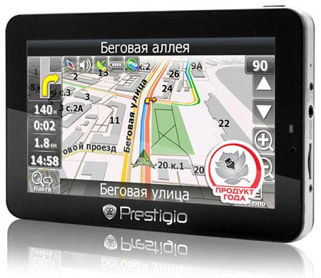 Навигатор Prestigio GeoVision GV5500