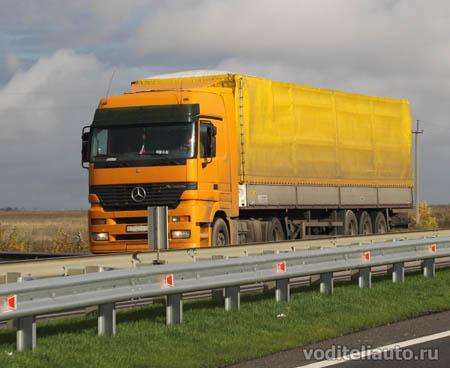 грузовик Мерседес