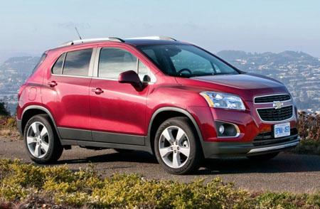 внедорожник Chevrolet Tracker 2013 года