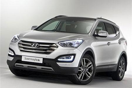 автомобиль Hyundai Sante Fe