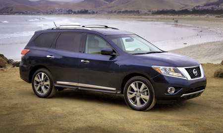 Кроссовер 2013 - Nissan Pathfinder