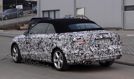 Автомобиль Audi A3 Convertible