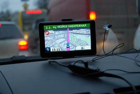 Навигатор в автомобиле