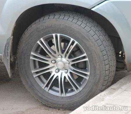 глубина протектора на покрышках авто