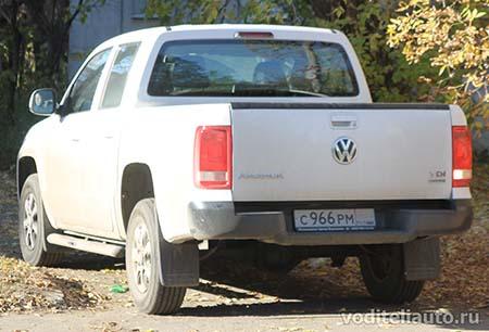 перевозка грузов на Volkswagen Amarok