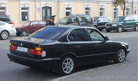использование автомобилей сотрудниками МВД