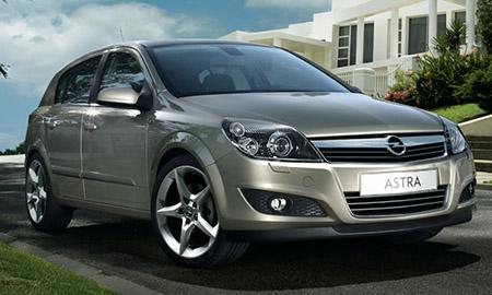 Семейный автомобиль Opel Astra family