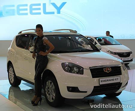 Новый автомобиль GEELY EMGRAND X7