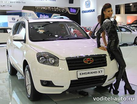 китайский внедорожник Emgrand X7