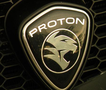 Эмблема автомобиля Proton