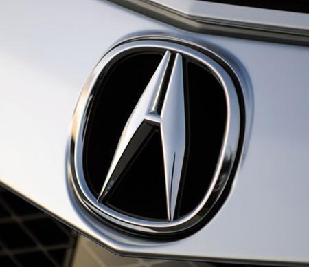 Эмблема автомобиля Acura