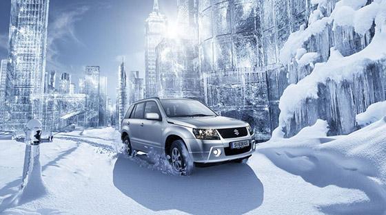 работа климат контроля в автомобиле зимой