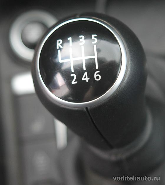 скорости на механической коробке передач
