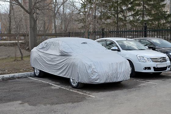 проветриваемый тент для легкового автомобиля