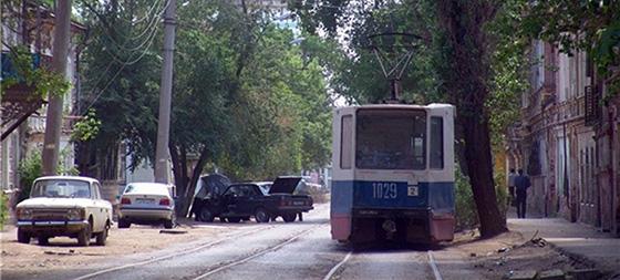трамвайные пути