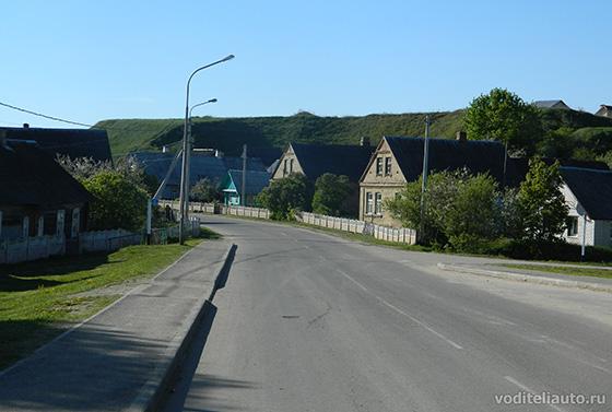 качественные дороги в республике Беларусь даже в сельской местности