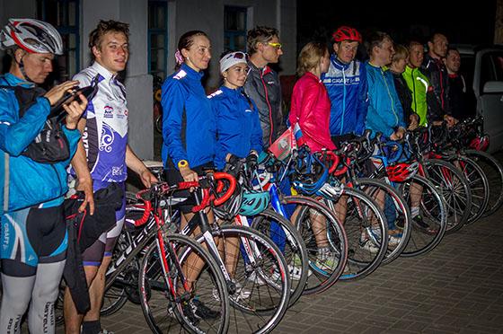 участники велопробега «Брестский проект 2015»
